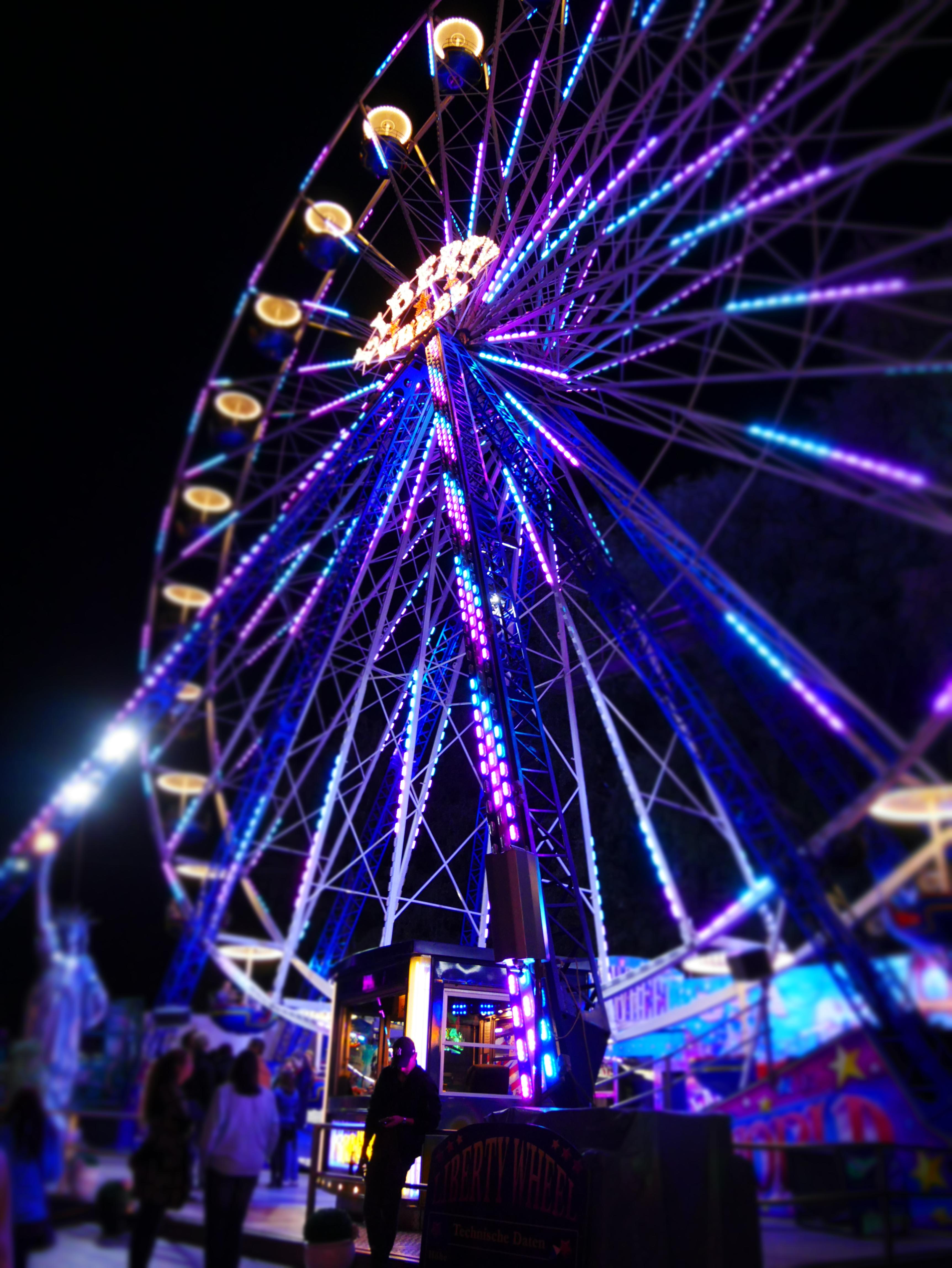Riesenrad auf der Eitorfer Kirmes, Foto: Christine Siefer